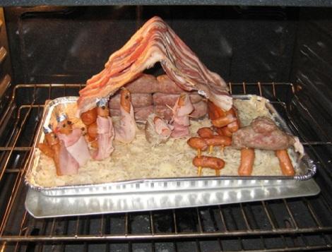 bacon nativity
