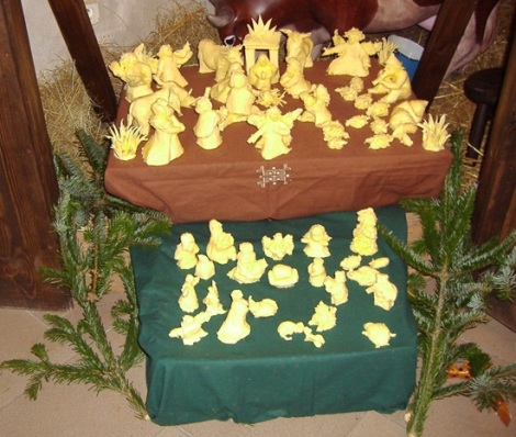butter nativity