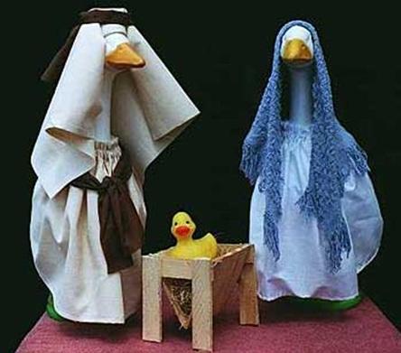 geese nativity