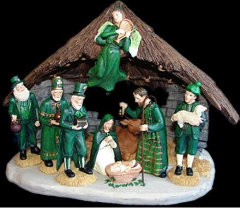 irish nativity