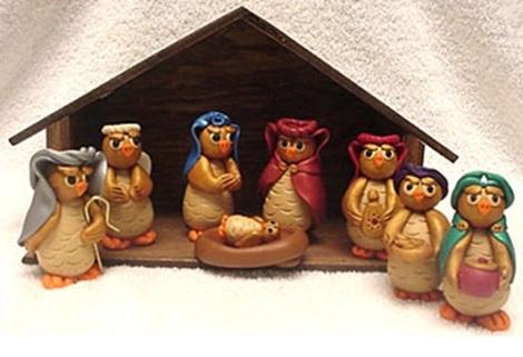 owls nativity