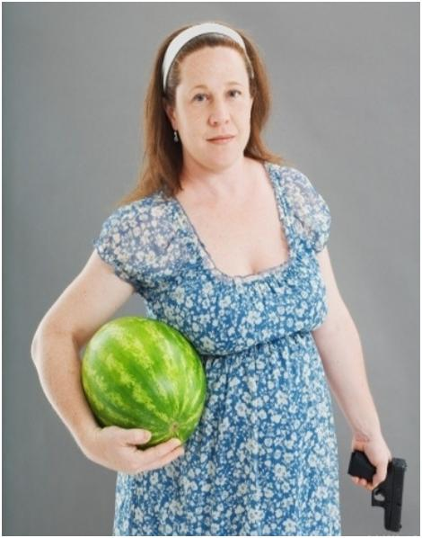 watermelon handgun