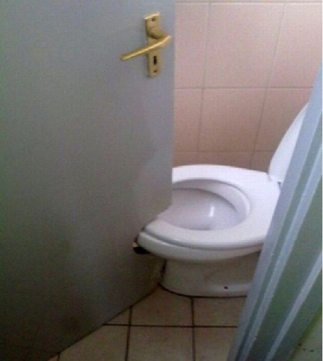 potty door