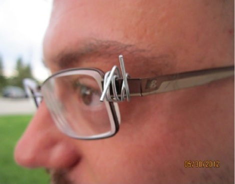 wire glasses fix