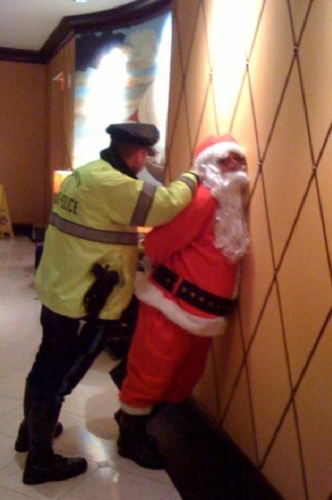 arrest santa