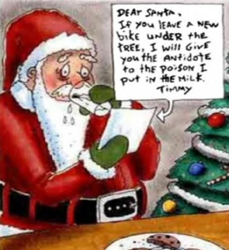 extortion santa