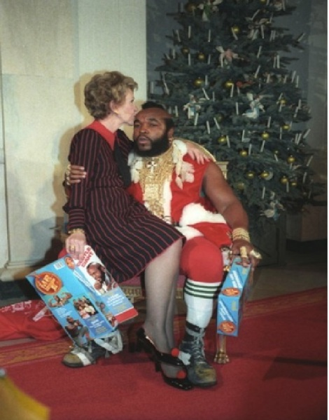 nancy reagan santa