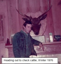 tim with elk head with heading